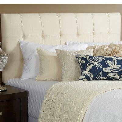 Fulton Upholstered Panel Headboard Size: Full