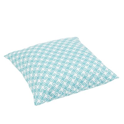 Estelle Waves Square Indoor/Outdoor Floor Pillow