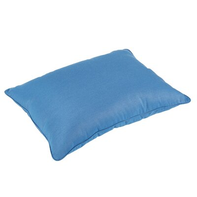 Melitta Piped Sunbrella Indoor/Outdoor Rectangle Floor Pillow
