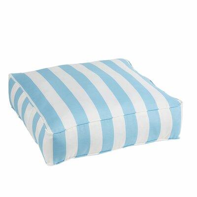Fitzsimmons Stripe Indoor/Outdoor Floor Pillow