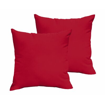 Fealty Polyester Throw Pillow Size: 18 x 18