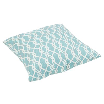 Brookwood Wavy Outdoor Floor Pillow