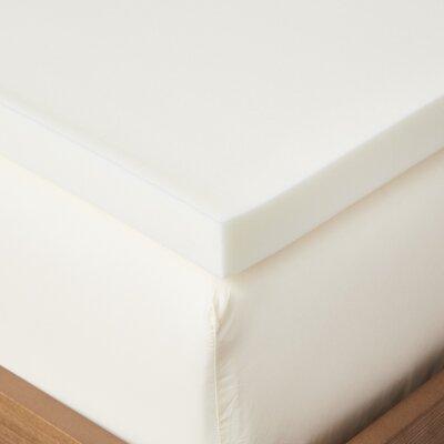 2 Memory Foam Mattress Topper Bed Size: Twin