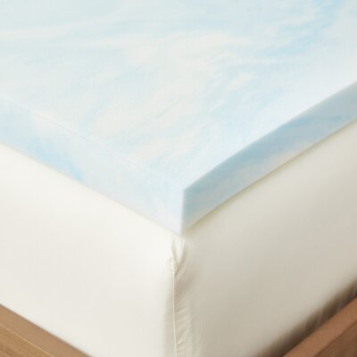 Gel Foam Mattress Topper Bed Size: Queen