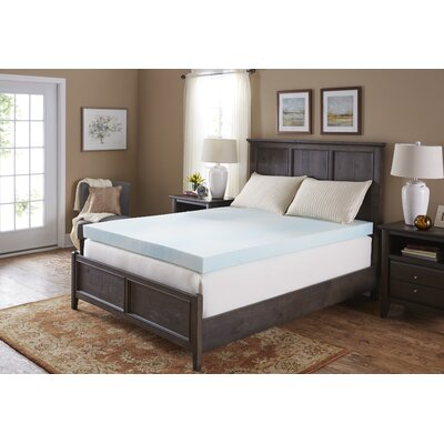 4 Gel Foam Mattress Topper Bed Size: California King