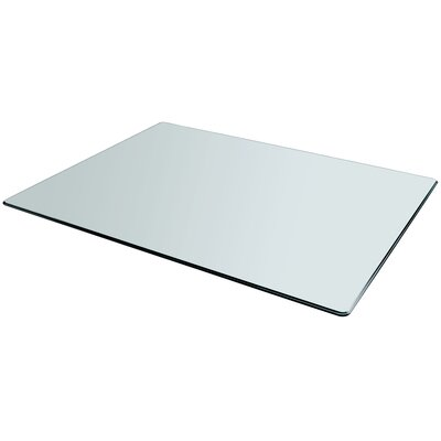 Rectangle Glass Table Top Size: 60L x 36W
