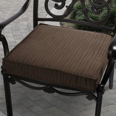 "Mozaic Company Sunbrella Outdoor Chair Cushion - Size: 20"", Color: Brown at Sears.com"
