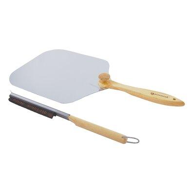 Pizza Craft Pizza Oven Stone Brush & Peel