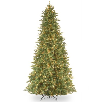 Tiffany Fir 12' Green Artificial Christmas Tree with 1200 Clear Lights and Stand