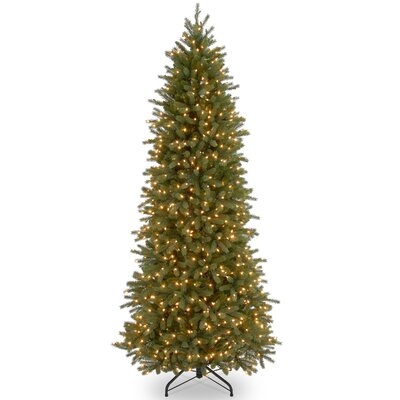 Jersey Fraser Fir 7.5' Green Artificial Christmas Tree with 650 Clear Lights and Stand