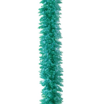 Tinsel Trees Garland Color: Turquoise