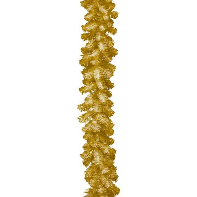 Tinsel Trees Garland Color: Champagne