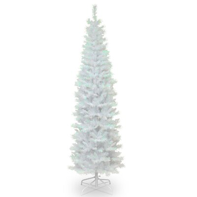 Tinsel Trees 6' White Artificial Christmas Tree with Metal Stand