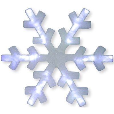 Snowflake with LED Lights Christmas Decoration