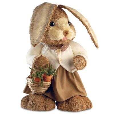 Standing Rabbit Easter Decoration