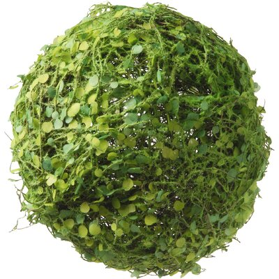 Decorative Moss and Leaves Ball