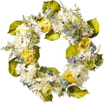 "30"" Flower Wreath RAS-HYX60018-1"