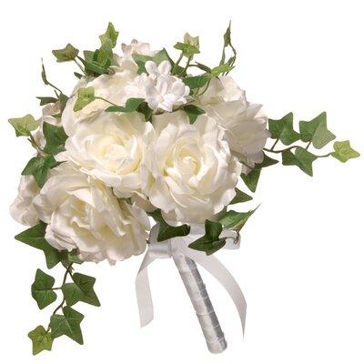 "12"" Rose Wedding Bouquet"