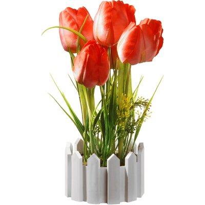 Faux Tulips in Pot NF36-5031S-1