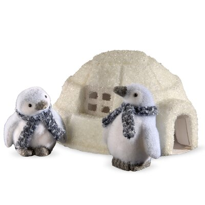 3 Piece Penguin and Igloo Set THDA5606 42860753