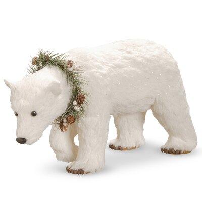 "9"" Polar Bear Figurine THDA5609 42860765"