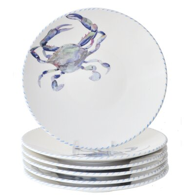 "Crab 10"" Dinner Plate"