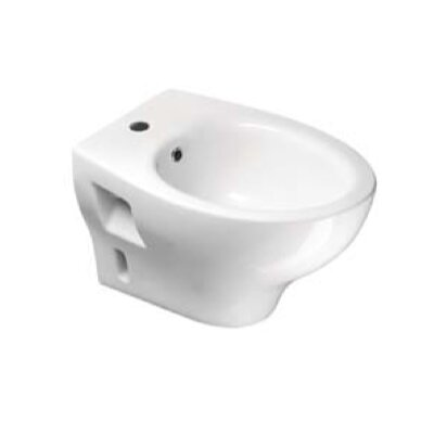 City Contemporary Round Wall Mount Bidet