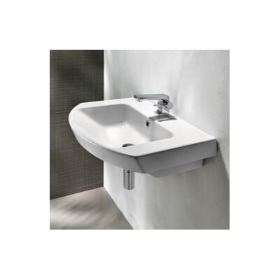Modo 26 Wall Mount Bathroom Sink with Overflow