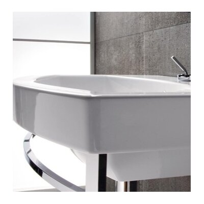 Losagna 24 Wall Mount Bathroom Sink with Overflow