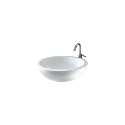 Panorama Ceramic Oval Vessel Bathroom Sink