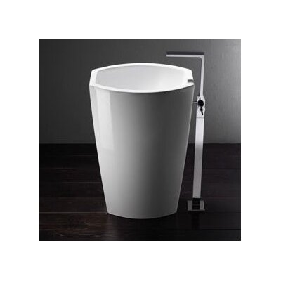 Losagna Trendy Ceramic 22 Pedestal Bathroom Sink