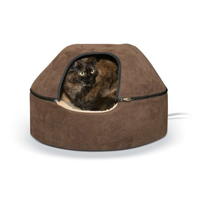 Heated Kitty Dome Bed Size: Large (20 W x 20 D x 13.5 H)