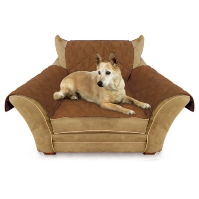 Box Cushion Armchair Slipcover Color: Mocha