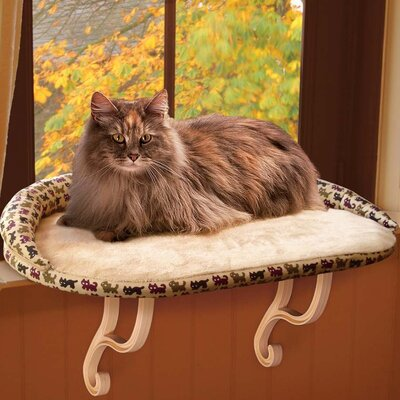Kitty Sill Deluxe with Bolster