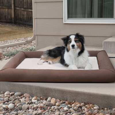 Deluxe Lectro-Soft Outdoor Heated Pet Pad Size: Large (44.5 W x 34.5 D x 4.5 H)