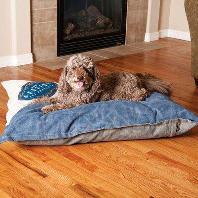 Vintage Single-Seam Genuine Logo Pet Pillow Size: Large (44 W x 35 D x 3.5 H)