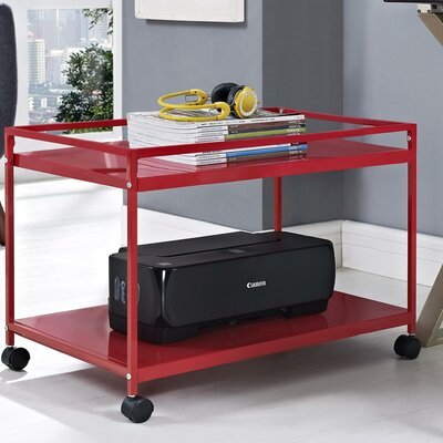 Altra Marshall Coffee Table Cart - Finish: Red at Sears.com