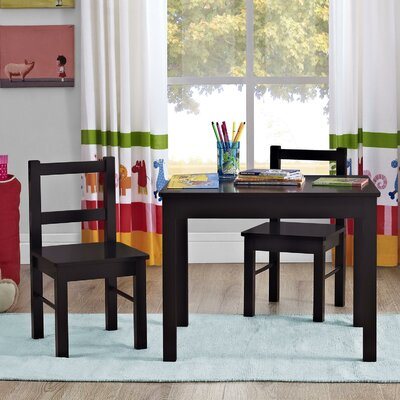 Altra Kids 3 Piece Rectangle Table & Chair Set 5827396PCOM