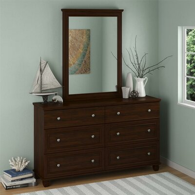 Hanover Creek 6 Drawer Dresser with Mirror