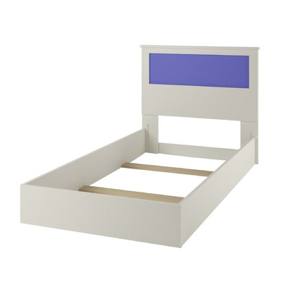Skyler Kids Twin Platform Bed With Reversible Headboard