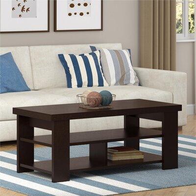 Viviene Coffee Table Color: Espresso