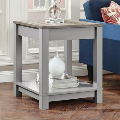 Callowhill End Table Finish: Gray