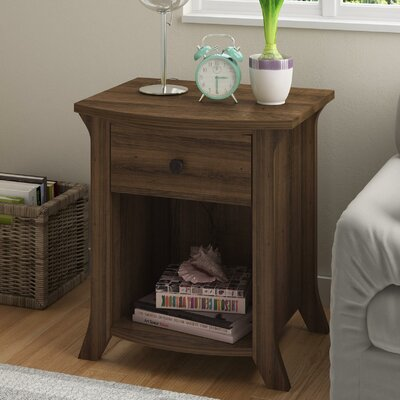 Plumville 1 Drawer Nightstand