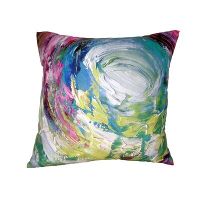 Gifts of Healing Compassion Leather Throw Pillow