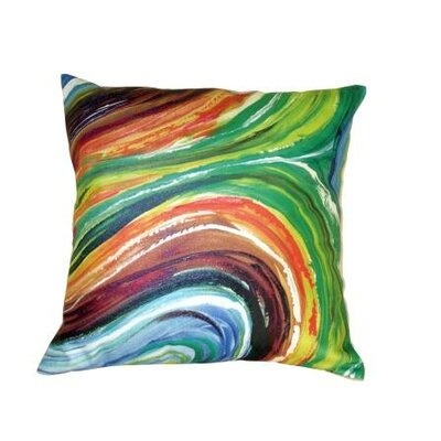 Gifts of Healing Leather Throw Pillow