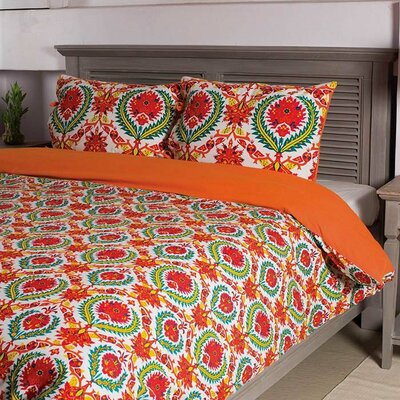 Duvet Cover Set Size: Full/Queen
