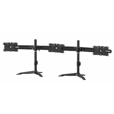 Vulture Height Adjustable Universal 3 Screen Desk Mount