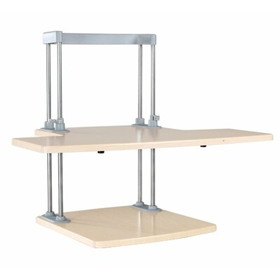 20.8 H x 25.2 W Standing Desk Conversion Unit
