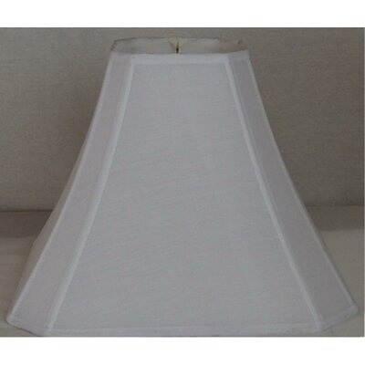 "17"" Shantung Bell Lamp Shade WLF71713SQBW"