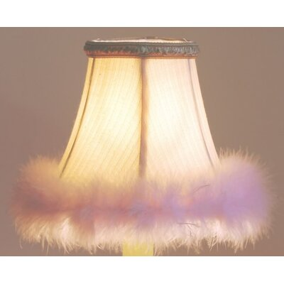 5 Silk Bell Candelabra Shade Shade Color: Pink